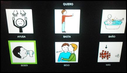 menu abierto QUIERO
